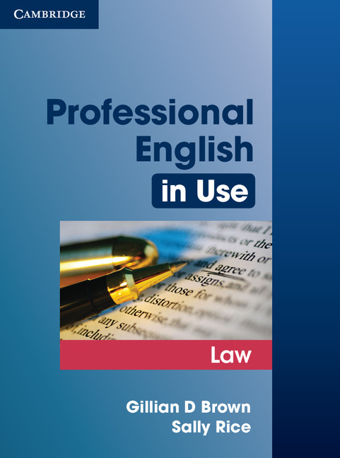 Prof English in Use Law