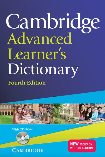 Cambridge Advanced Learner's Dictionary 4th edition | Cambridge