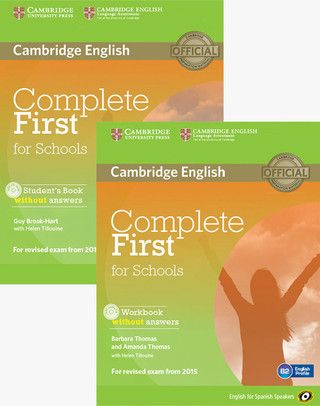 Complete First for schools Students Pack