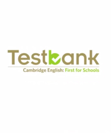 Testbank First for Schools