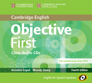Objective First Class Audio CDs