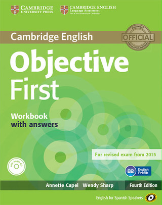 Objective First Workbook with and and CD ROM