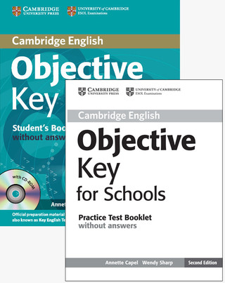 Objective Key For Schools Pack