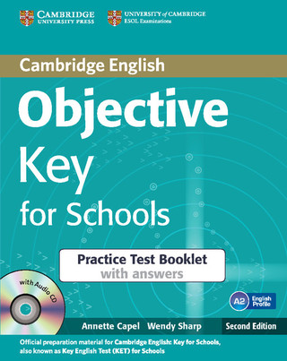 Objective Key for Schools Practice Test Booklet