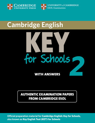 Practice Test Key for Schools 2