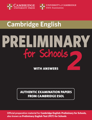 Practice Test Preliminary for Schools 2