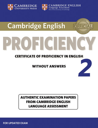 Proficiency 2 cover