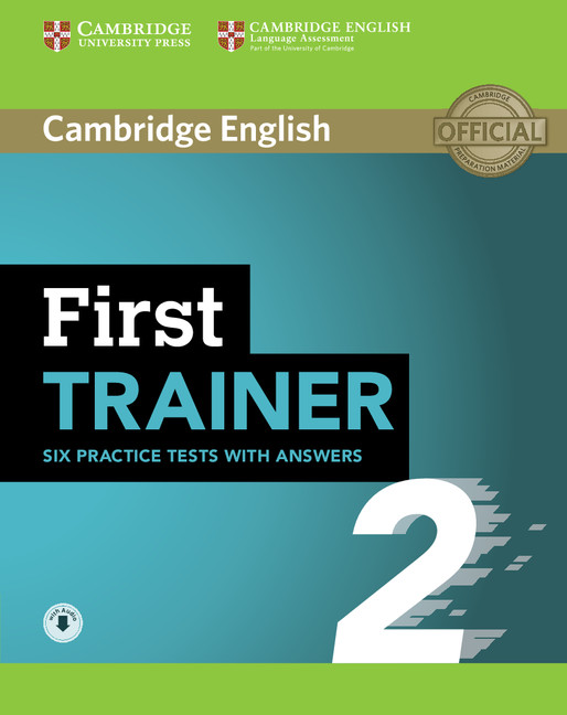cambridge first trainer  First Trainers | Cambridge University Press Spain