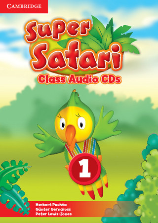 Super Safari Audio CDs