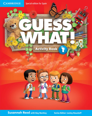 Guess What Activity Book