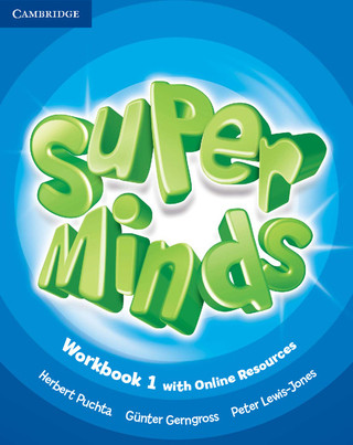 Super Minds Workbook with online resources