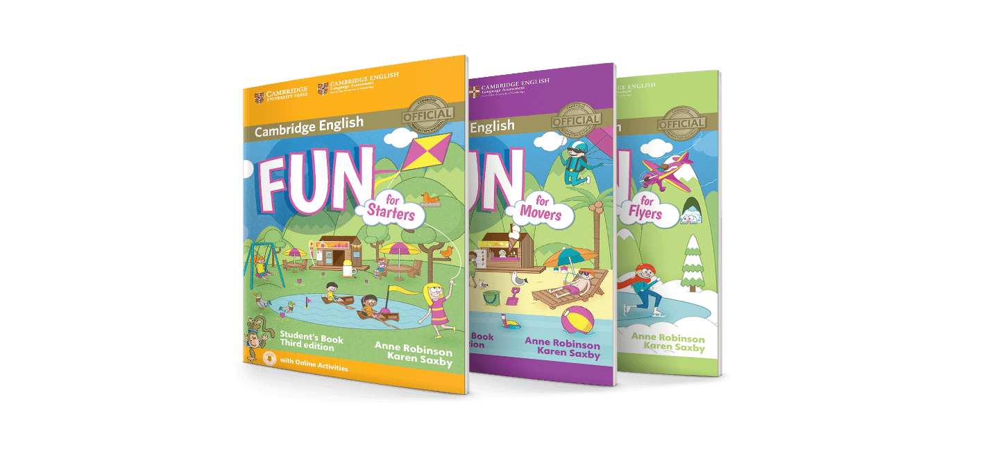 Fun for Starters, Movers and Flyers 3rd edition | Cambridge