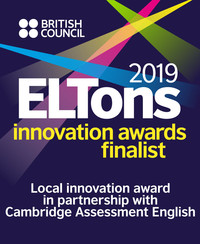 17th British Council ELTons Awards for Innovation in English Language Teaching 2019 in Local Innovation